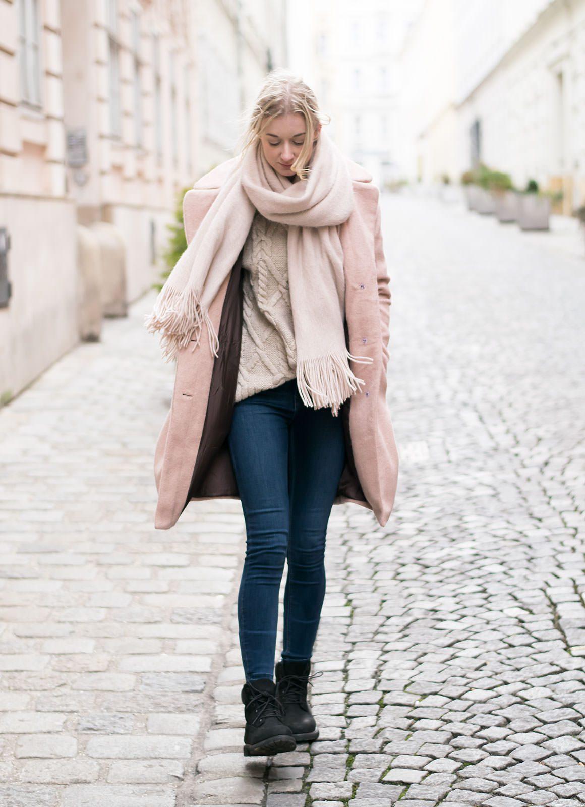 Jayde Archives Pale Pink Coat