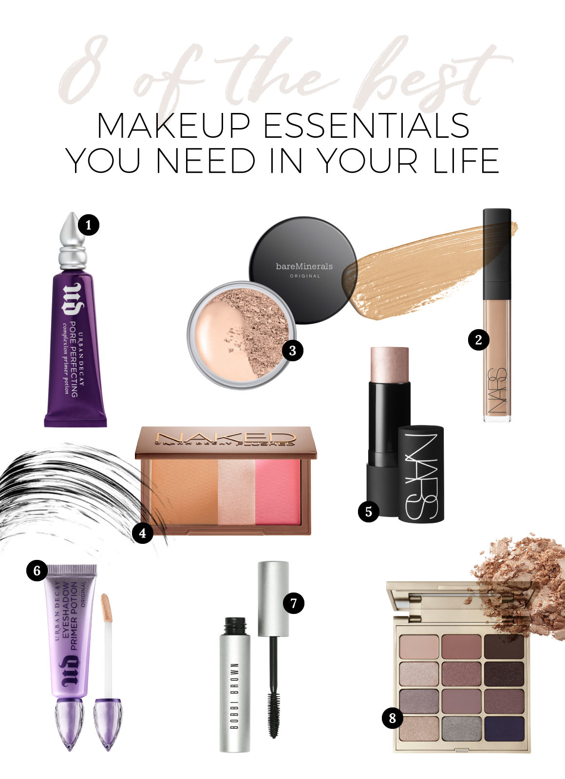 8 Of The Best Makeup Essentials You Need In Your Life Jayde Archives