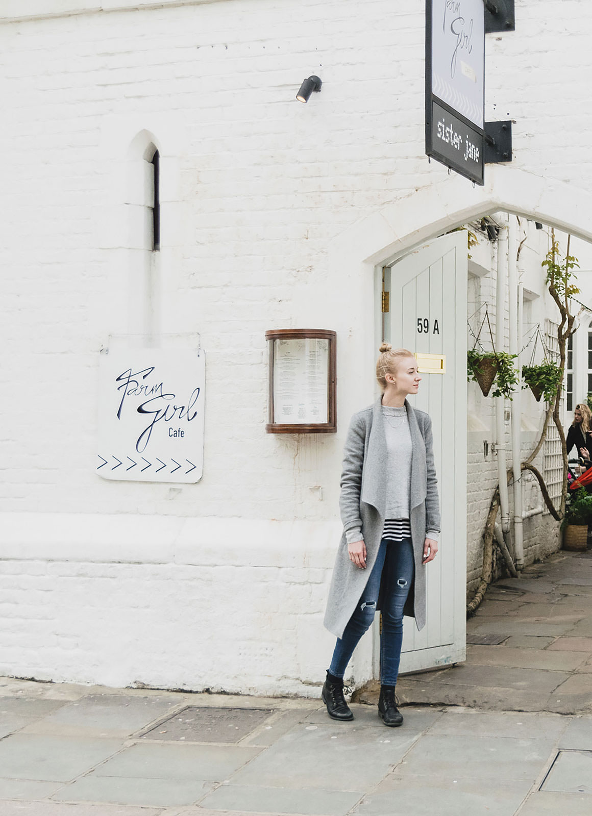 Prettiest Places to visit in London - Farm Girl Cafe