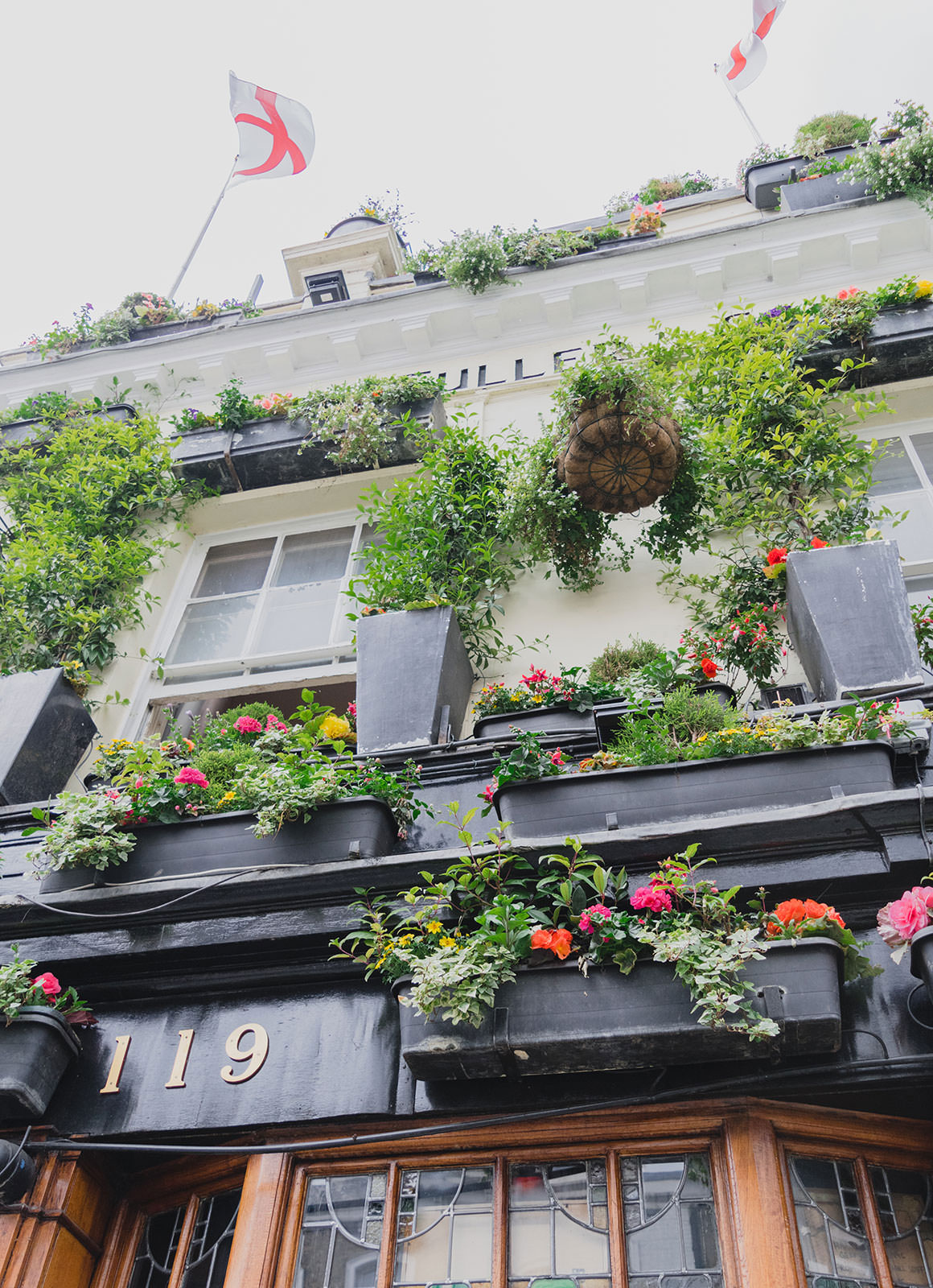 Prettiest Places to visit in London - The Churchill Arms