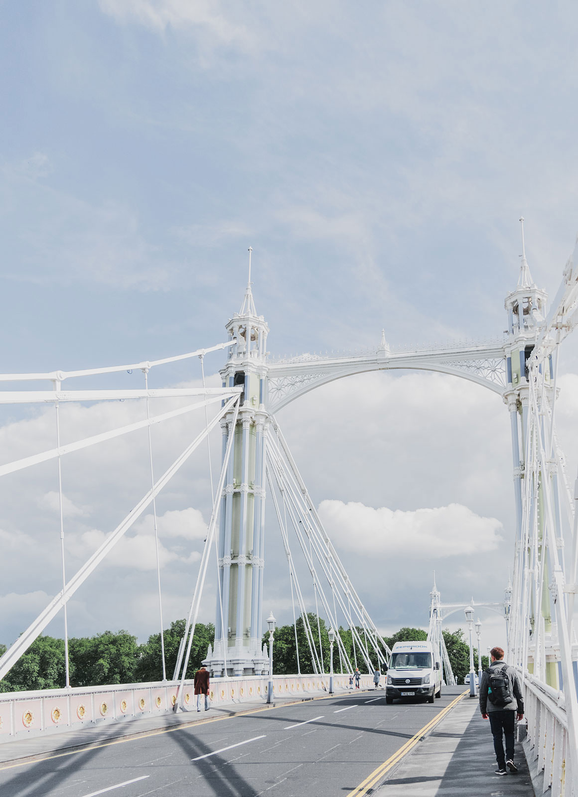 Prettiest Places to visit in London - Albert Bridge