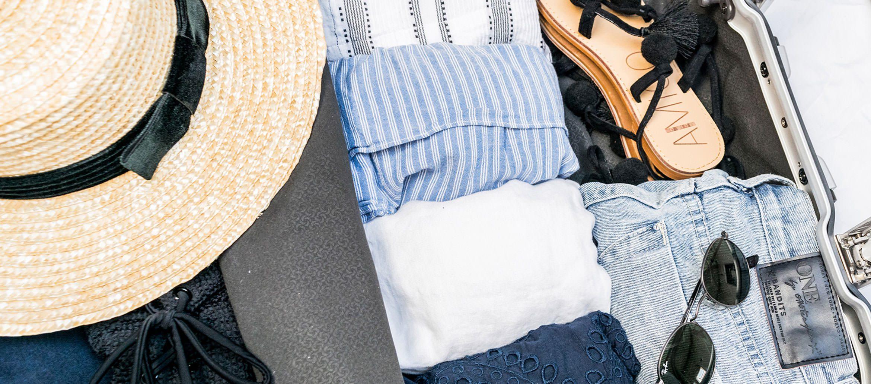 Travel Wardrobe: White, Navy & Denim