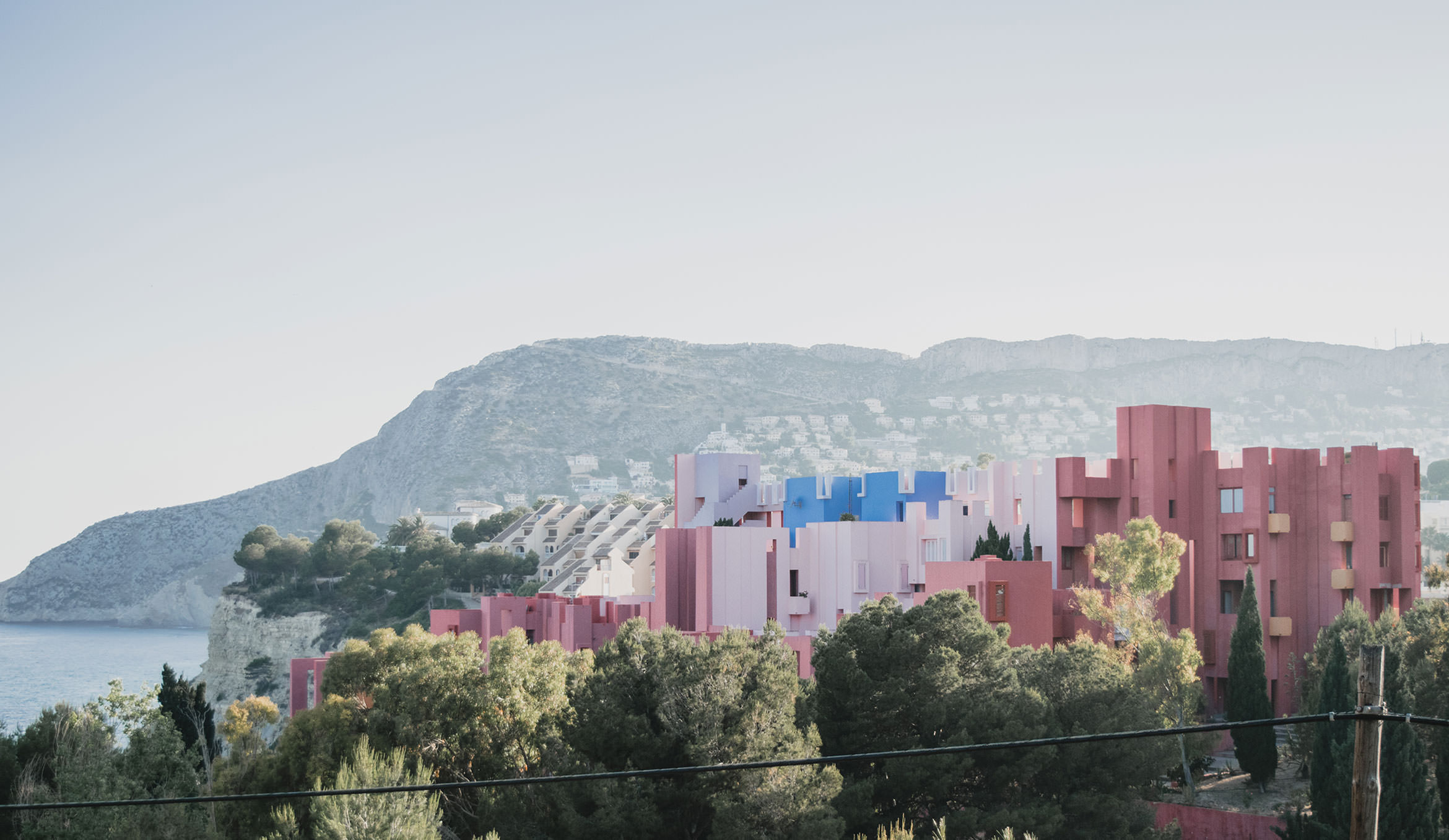Barcelona to Madrid Road Trip - Apartment Muralla Roja Calp