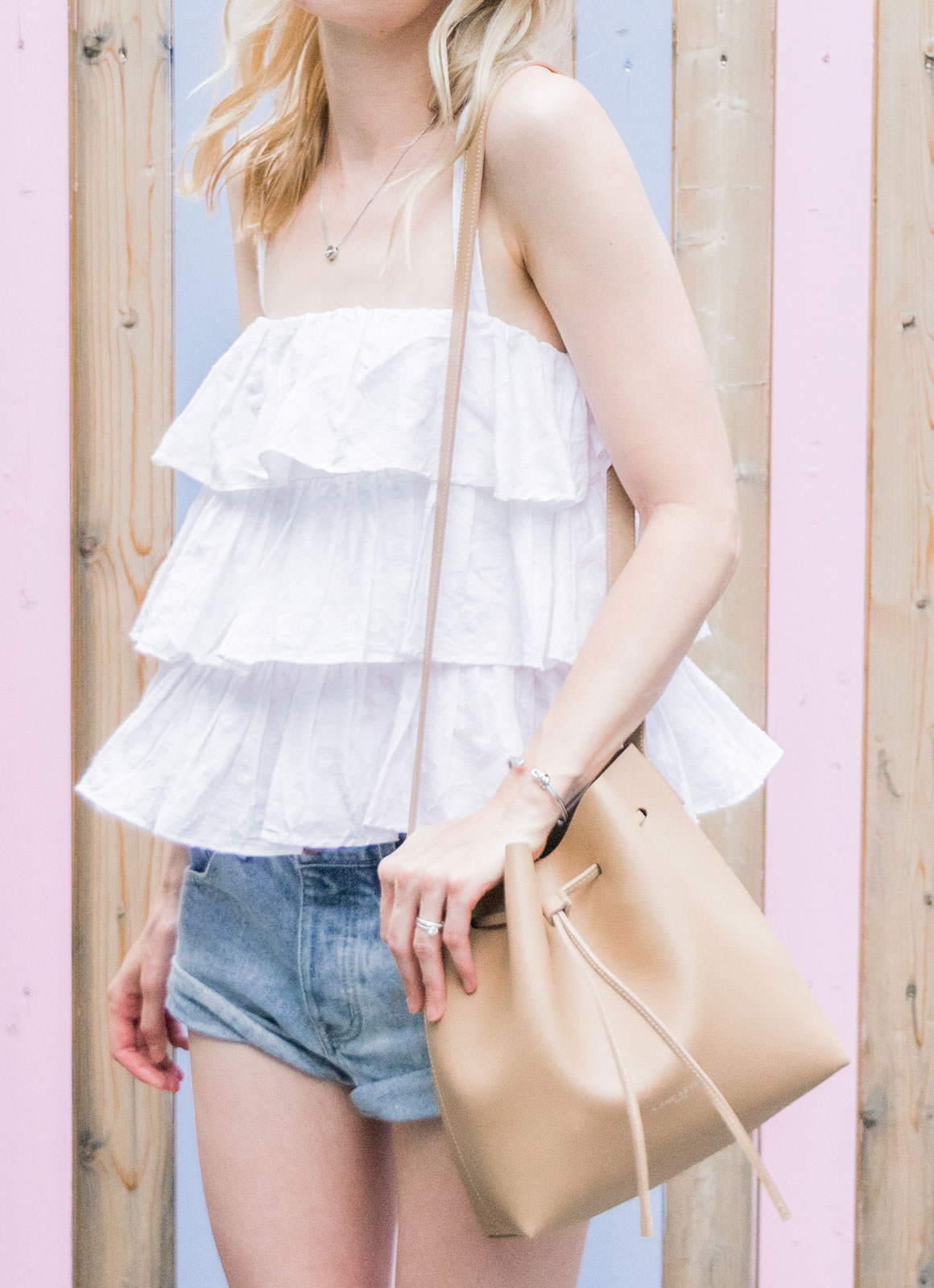 Ruffled Tops - Casual Frill Top Outfit