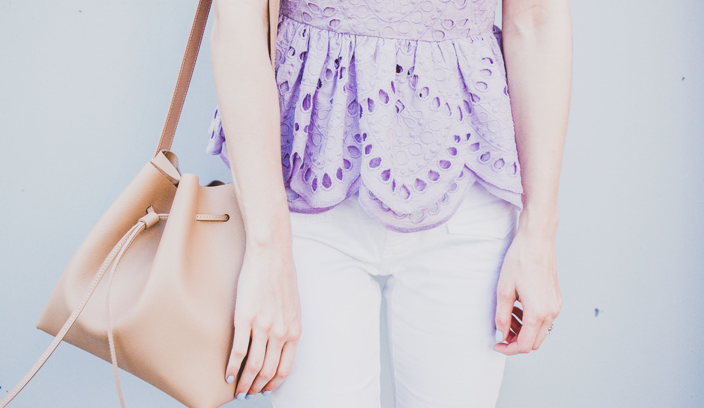 Lavender Top Outfit