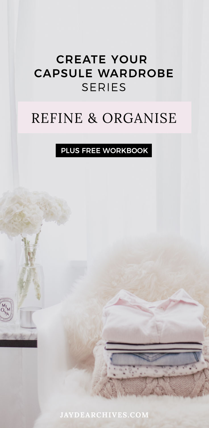 Create your Capsule Wardrobe post series and free Capsule Wardrobe Workbook