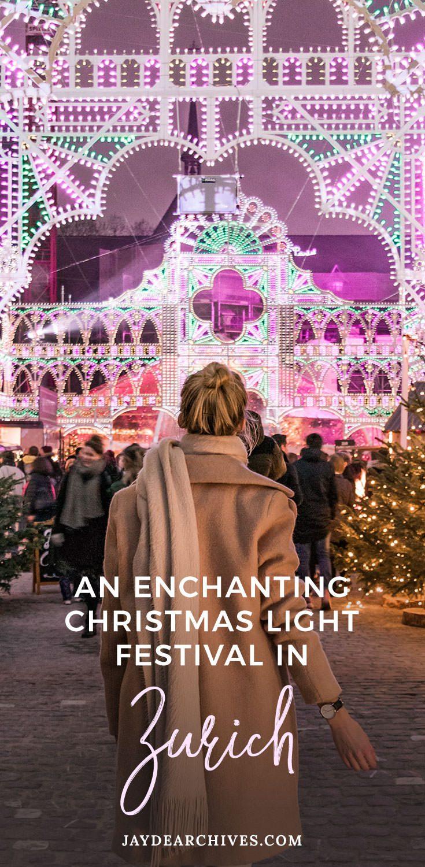 Illuminarium Zurich: An Enchanting Christmas Light Festival