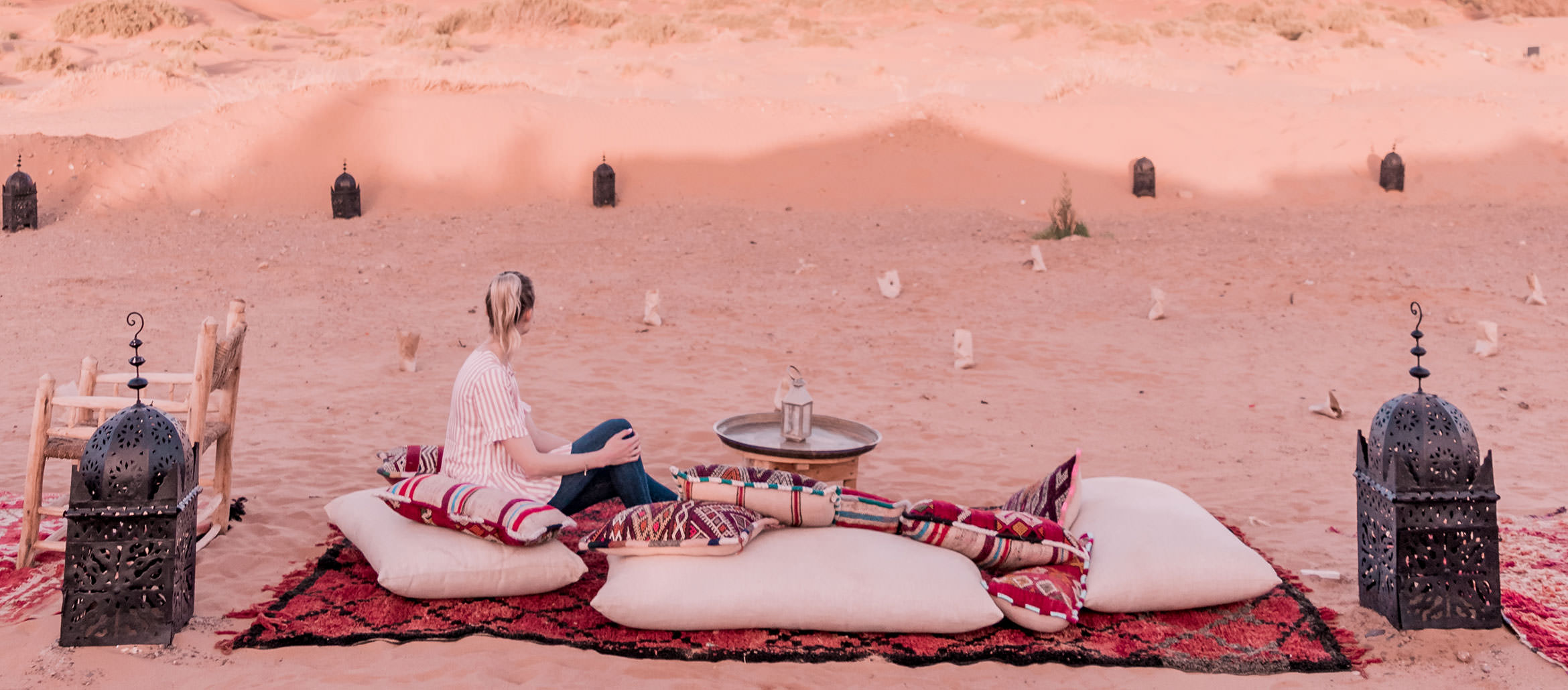 Sleeping Under the Stars: Glamping in the Sahara Desert