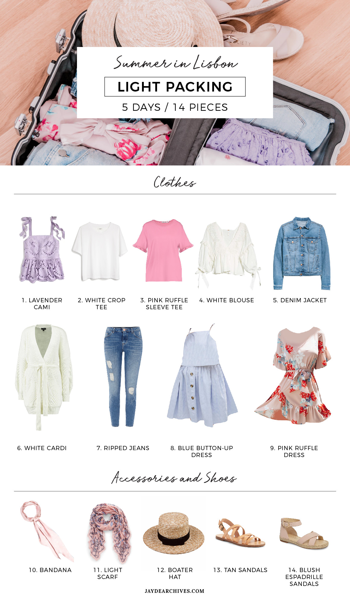 Travel Capsule Wardrobe For Lisbon Jayde Archives
