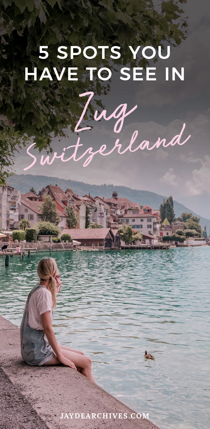 Places to see in Zug Switzerland
