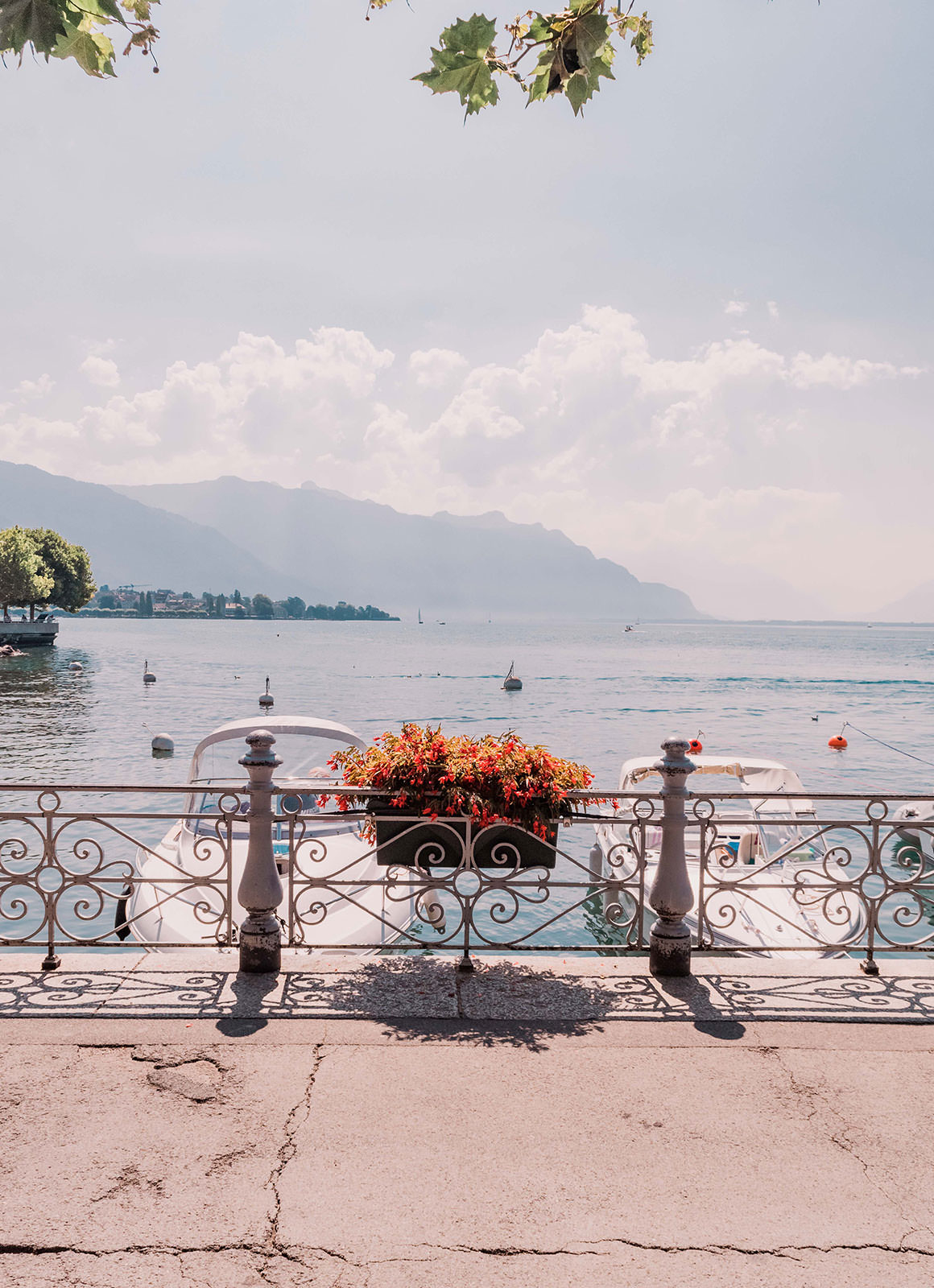 Two Days in Montreux Switzerland