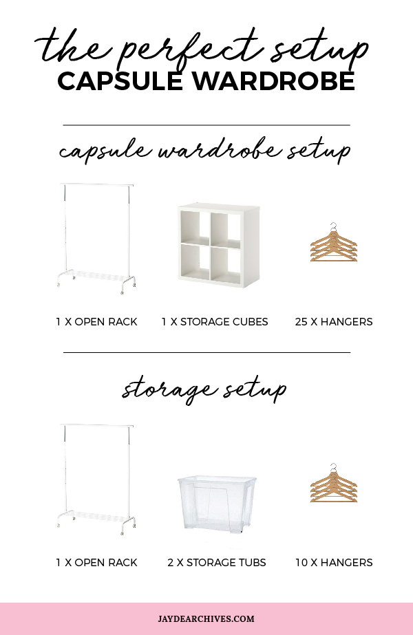 Capsule Wardrobe Storage