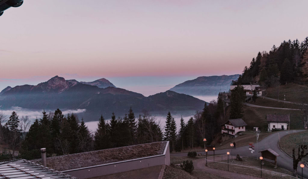 Stoos Muotathal - mountain top hotel in Switzerland