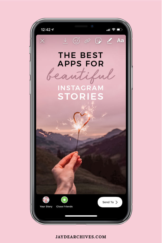 Apps for Beautiful Instagram Stories