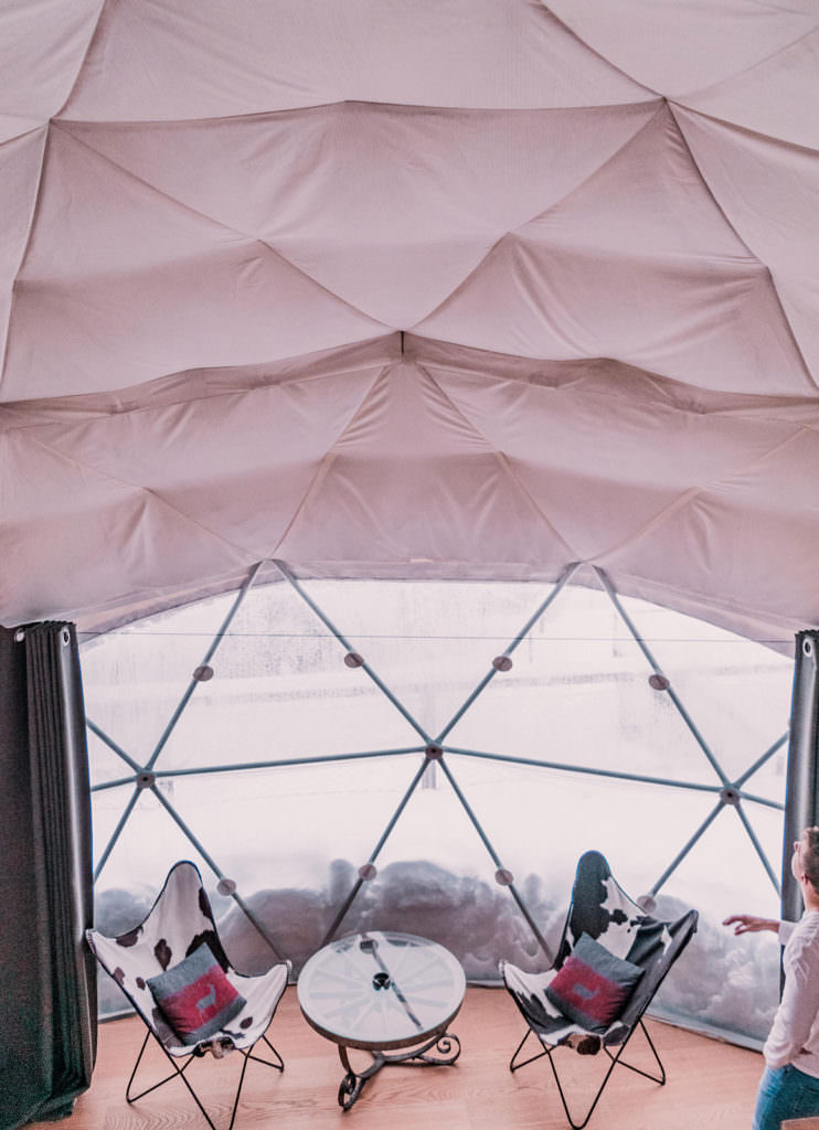 Snow Glamping Luxury Camping Switzerland Whitepod Hotel