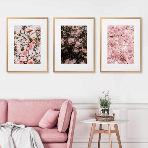 Eco Friendly Boho Floral Camellia Photography Print
