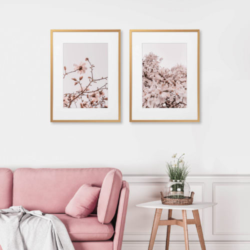 Eco Friendly Boho Floral Magnolia Photography Print