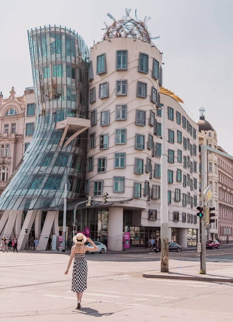 Prettiest Places in Prague Dancing House