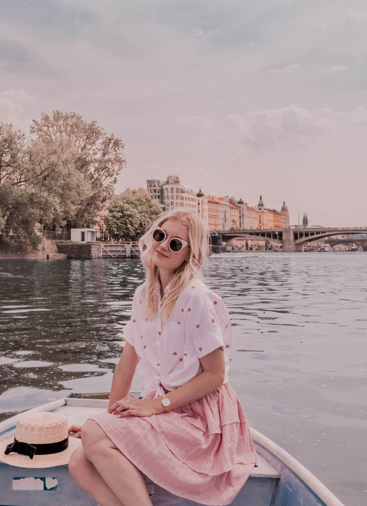 Prettiest Places in Prague - Row Boat