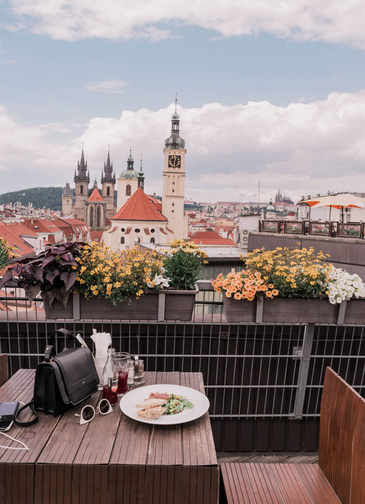 Prettiest Places in Prague - T-Anker Restaurant