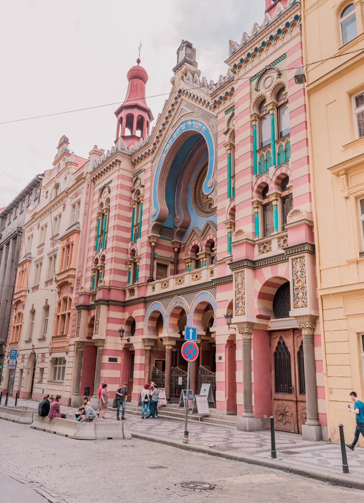 Prettiest Places in Prague Jewish Jerusalem Synagogue