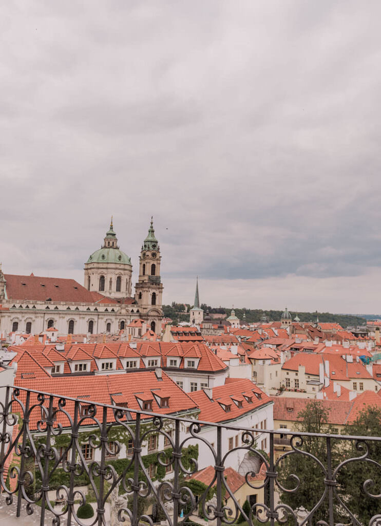 Prettiest Places in Prague - Gardens below the Prague Castle