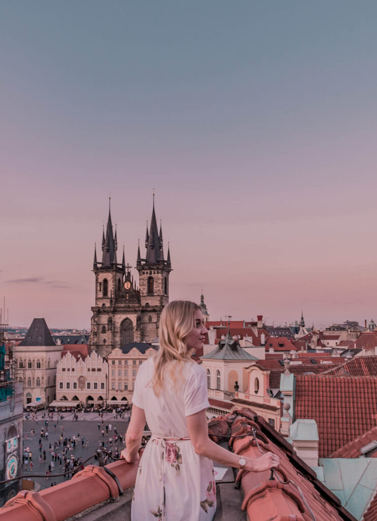Prettiest Places in Prague - Terrace U Prince