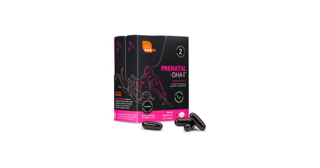First Trimester Essentials Zahler Prenatal DHA