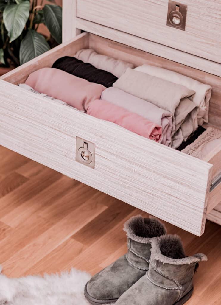 Loungewear Capsule Wardrobe Storage