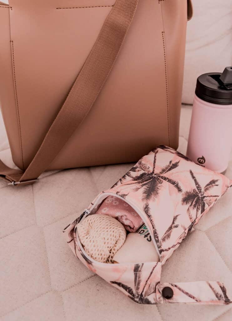 Zero Waste To-Go Travel Kit in Bag