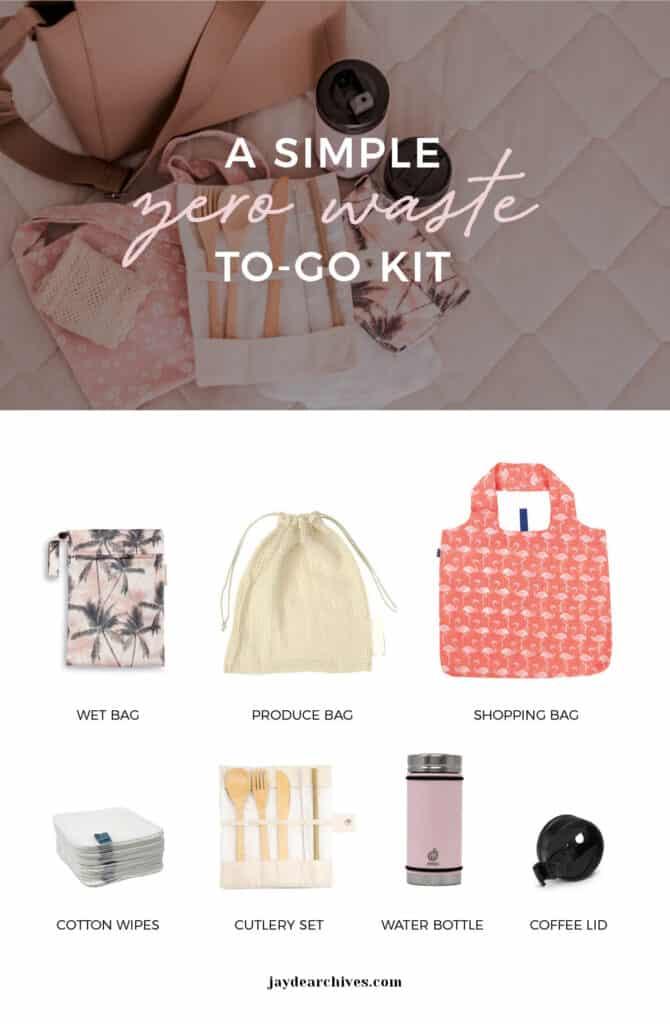 Zero Waste To-Go Travel Kit