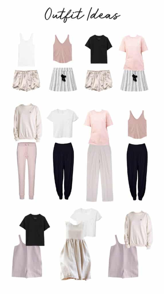 Loungewear Capsule Wardrobe Outfits