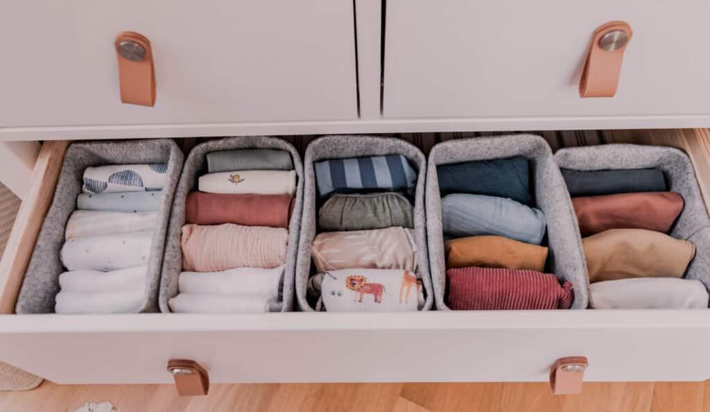 Gender Neutral Baby Capsule Wardrobe Storage
