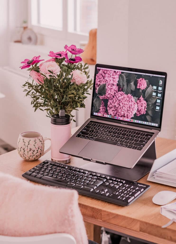 Portable Home Office Setup